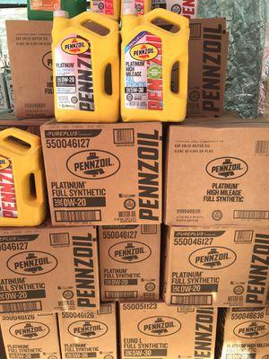 Pennzoil full synthetic for Sale in Pomona, CA