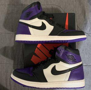 Jordan 1 court purple for Sale in Tampa, FL