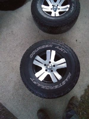 Rims and tires for Sale in Trafalgar, IN