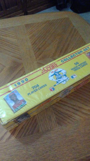 MLB 1990 Score Complete Factory Set sealed for Sale in SeaTac, WA