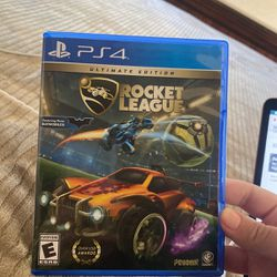 Rocket League Ultimate Edition (Ps4) for Sale in Chino Hills,  CA