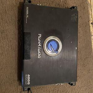 4000 Watt Amp Planet Audio for Sale in Waco, TX