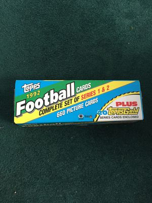 1992 Topps Football card, series 1 and 2 for Sale in NO POTOMAC, MD