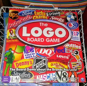 The logo board game, opened, not used for Sale in Phoenix, AZ