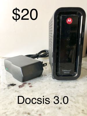 Motorola SB6182 Docsis 3.0 cable modem for Sale in Phoenix, AZ