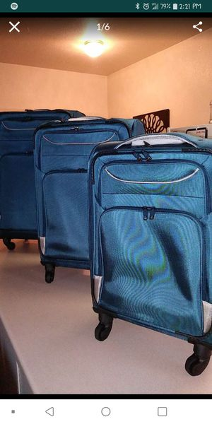 New 3 piece luggage set for Sale in Tolleson, AZ