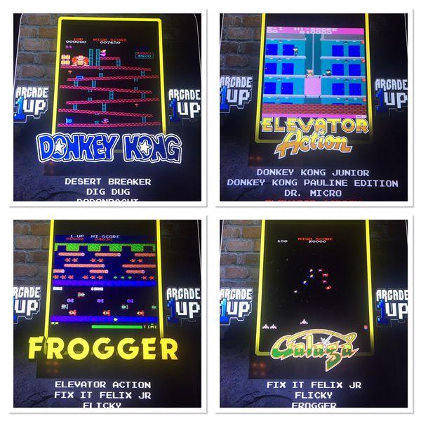 1up Arcade Modded Pac-Man Galaga 100 Games