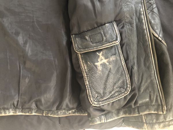 Affliction jacket limited edition hand numbered size. L