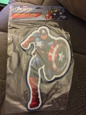 Captain America Foam Wall Decoration CC2 for Sale in Hayward, CA
