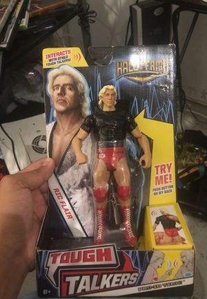 Wwe ric flair action figure collectibles for Sale in Lathrop, CA