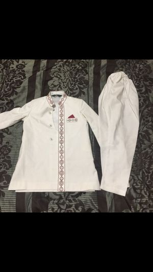 "Kids Shalwar Kameez Outfit Dress eid white fancy formal dress boys toddlers shirt length 20"" for Sale in Silver Spring, MD"