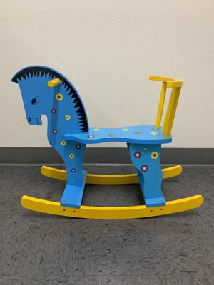 NEW IN BOX $20 each Wooden Rocking Horse Ride On Kids Baby Toddler Toy age 2 and Up Assembly Required for Sale in Whittier, CA