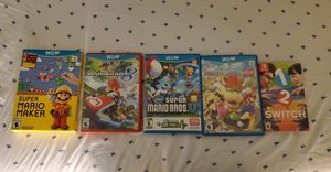 Variety of Wii U and switch games, need gone ASAP Exclusive offer! for Sale in Surprise, AZ