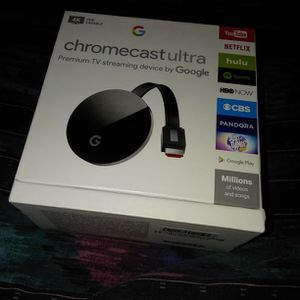 Chromecast Ultra 4K for Sale in Tukwila, WA