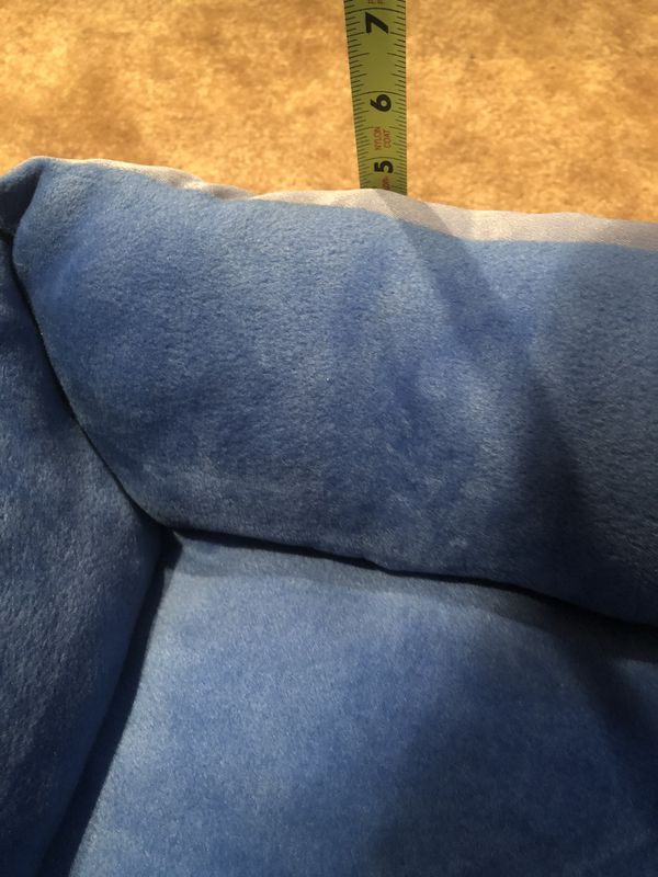 Small pet bed, blue