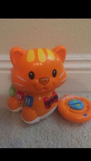 Vtech Catch me kitty remote control kitty for toddlers for Sale in Las Vegas, NV