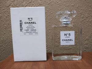 Chanel No 5 L'Eau 3.4 oz New Perfume Tester 100% Authentic for Sale in West Palm Beach, FL