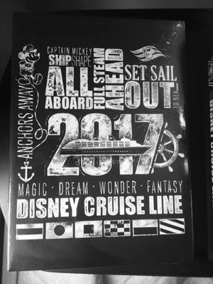 Disney Cruise Line Photo Albums - Set of 2 - New/Sealed for Sale in Weston, FL