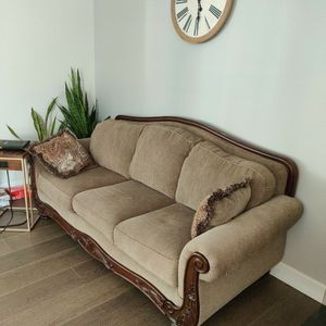 Dark Beige/Golden/Brownish Couches for Sale in Vancouver, WA