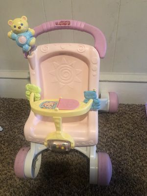Push doll stroller for Sale in Brooklawn, NJ
