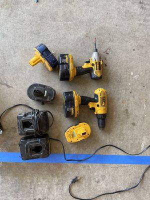De Walt ser of drills for Sale in Elk Grove, CA