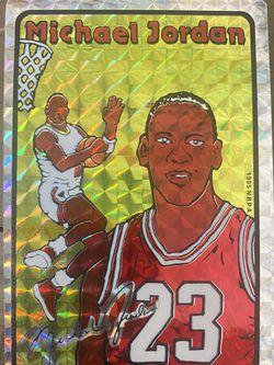 1985 Michael Jordan Prism Jewel Sticker for Sale in Burbank,  CA