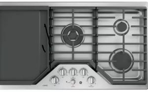 "Brand New GE Café Series 36"" Stainless Steel Gas Cooktop CGP9536SLSS w/ Griddle for Sale in Sterling, VA"