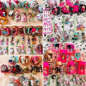 Lol dolls for sale big sis lol sis pets confetti capsules balls etc for Sale in Hutchinson Island, FL