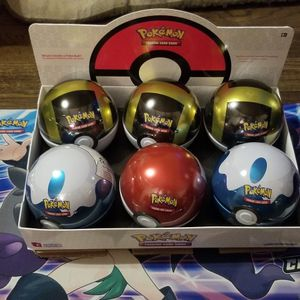 Sealed Pokeball Tin for Sale in South Bend, IN