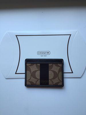 Authentic coach wallet/ card case for Sale in Atlanta, GA
