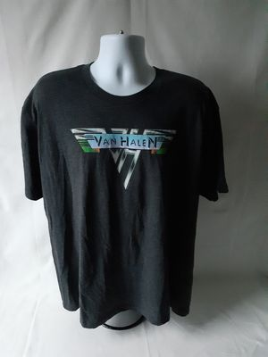 Tee Styled Van Halen men's black short sleeve graphic T-shirt size 2XL for Sale in Fall River, MA