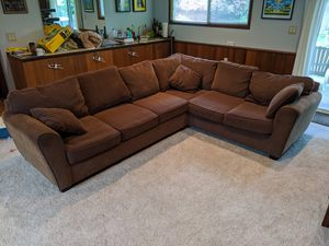 Brown sectional for Sale in Bothell, WA