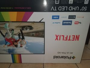 Polaroid 50 in. TV NEW 350.00 or best offer cash only for Sale in Apache Junction, AZ