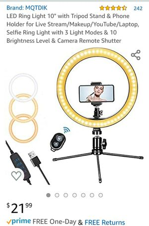 Led ring light (brand new) for Sale in San Antonio, TX