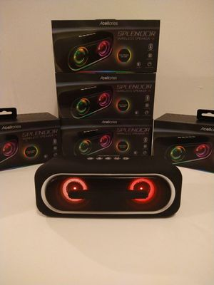 BLACK VOLOR SPEAKER BLUETOOTH RECHARGEABLE 🔋 $20. NEW IN BOX for Sale in Rialto, CA