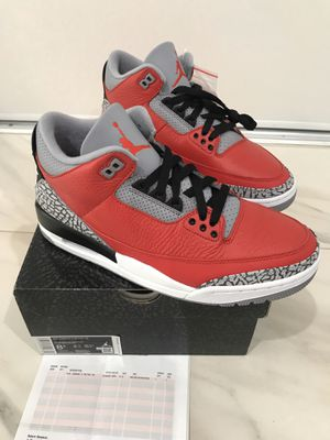DS Early Air Jordan 3 Retro SE Fire Red Cement Size 8.5 for Sale in Garden Grove, CA