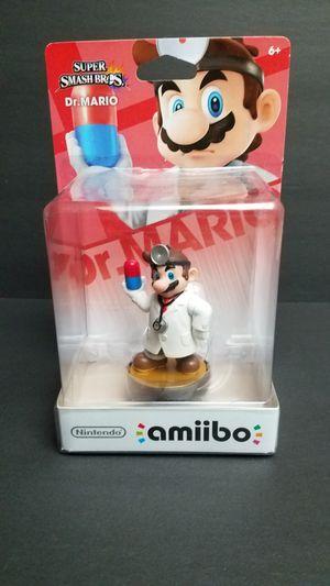 New Dr. Mario Super Smash Bros Nintendo Amiibo for Sale in Glendale, AZ