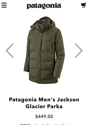 Patagonia men's Jackson Glacier parka for Sale in Bellevue, WA