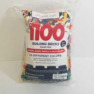 1100 pcs colorful building bricks set for Sale in Powder Springs, GA