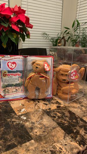 Germania Bear TY Beanie Babies for Sale in Phoenix, AZ