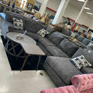 ☑ Special for Black Friday ‼ SPECIAL] Ballinasloe Smoke RAF Sectional SAME DAY DELIVERY for Sale in Jessup, MD