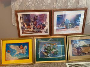 Disney Lithograph Pictures for Sale in Lake Hallie, WI