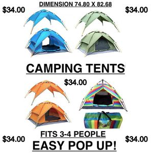 Fast Set up automatically open outdoor/indoor tents for Sale in Los Angeles, CA
