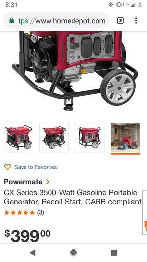 3500 watt generator - Brand New! for Sale in Pittsburgh, PA