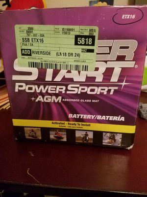 Atv battery brand new for Sale in San Bernardino, CA