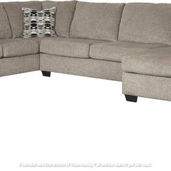 NEW, LARGE LAF Corner Chaise, PLATINIUM COLOR, SECTIONAL. for Sale in Ontario,  CA