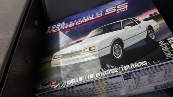 1986 Chevrolet model car that u can build