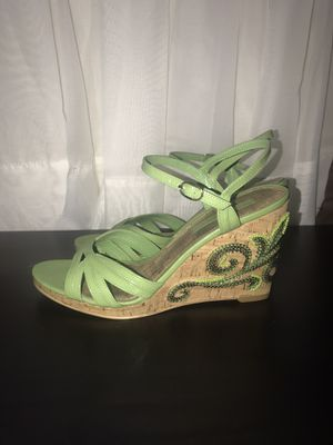 Heel sandals size 7.5 for Sale in Fresno, CA
