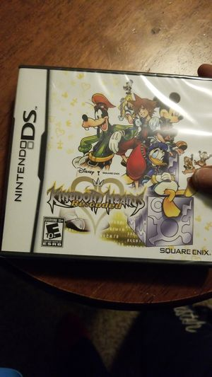 Nintendo ds kingdom hearts re:coded game for Sale in Portland, OR