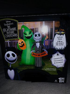 The nightmare before Christmas inflatable for Sale in Ontario, CA